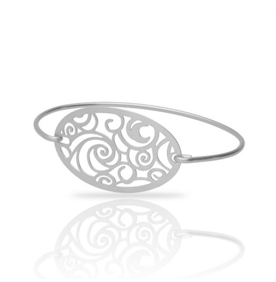 The Starry Night Silver Clic Bracelet