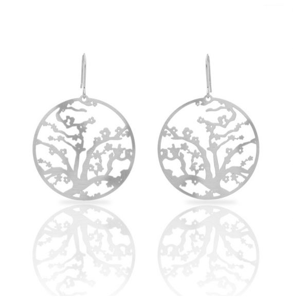 Earrings Almond Blossom Silver Earring