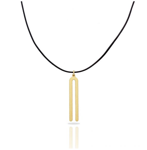 Necklace Diapason Gold Pendant