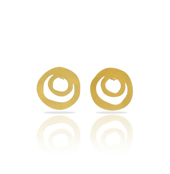 Ethnic Small Gold Earring