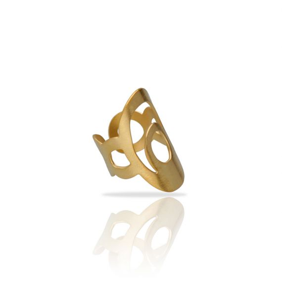 Rings Ethnic Gold Ring