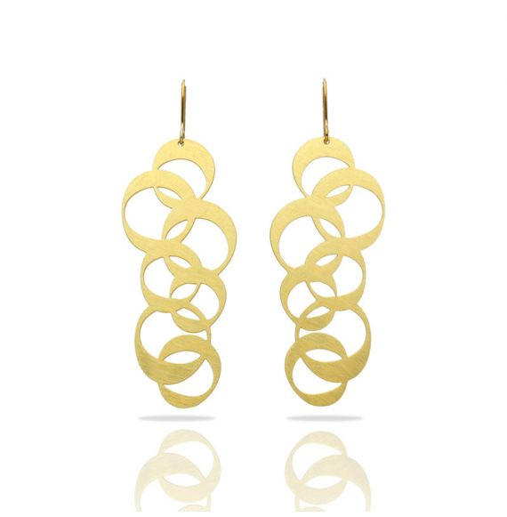 Rings Gold Earring