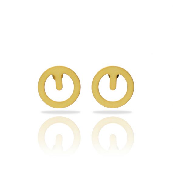 Clip Small Gold Earring