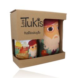 Pack Mug+Cushion Los Tukis Spanish