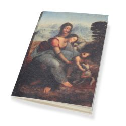 A6 Notebook The Virgin and Child with St. Anne