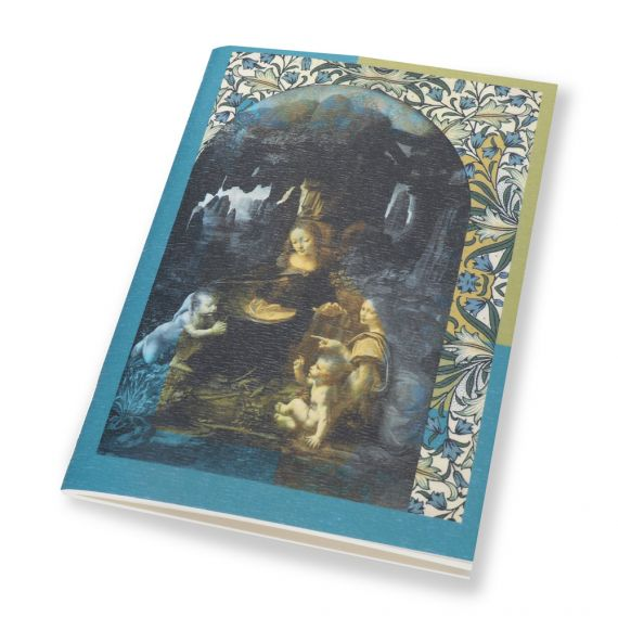 A6 Notebook Virgin of the Rocks
