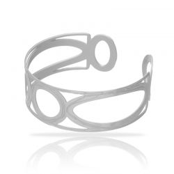 Opera Rectangle Silver Bracelet