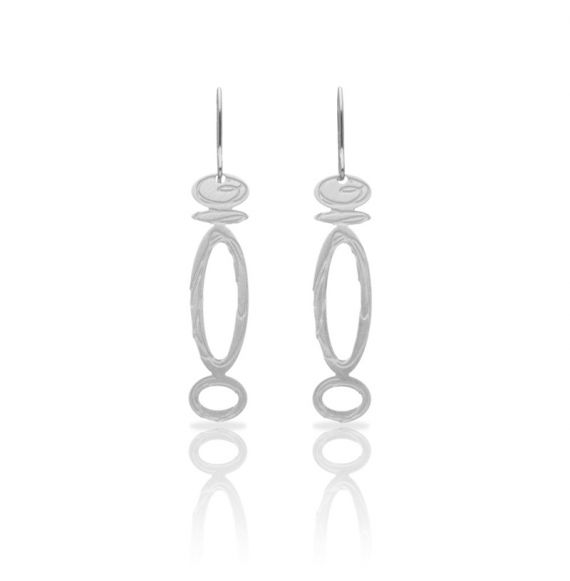 Opera Silver Small Earring