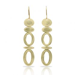 Opera Gold Large Earring