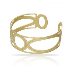 Opera Rectangle Gold Bracelet
