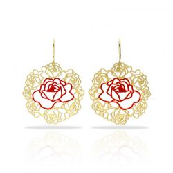 Damasco Gold Earring