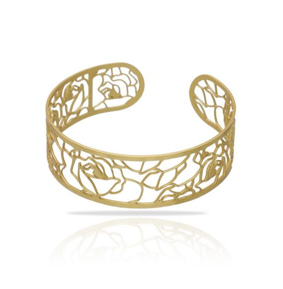 Brazalete Damasco Oro