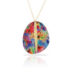 Botanico Gold Long Pendant