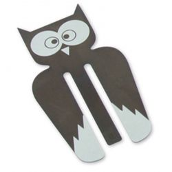 Owl Copper Bookmark