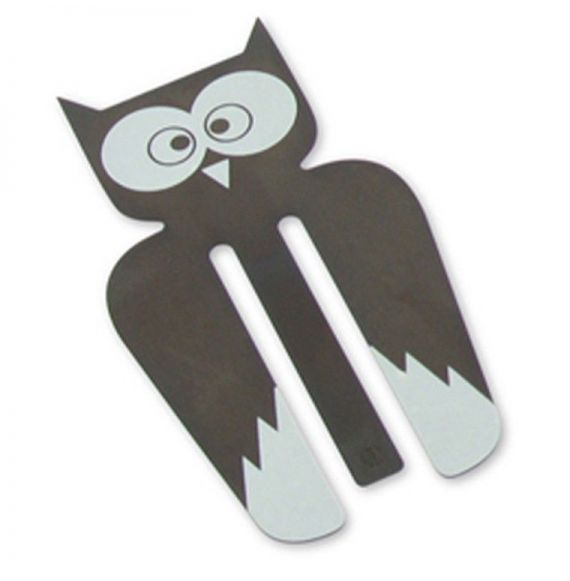 Animals Owl Copper Bookmark