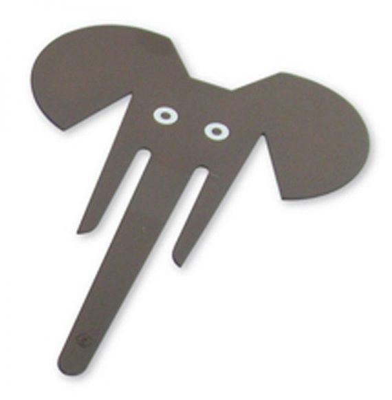 Animals Elephant Copper Bookmark