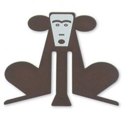 Monkey Copper Bookmark