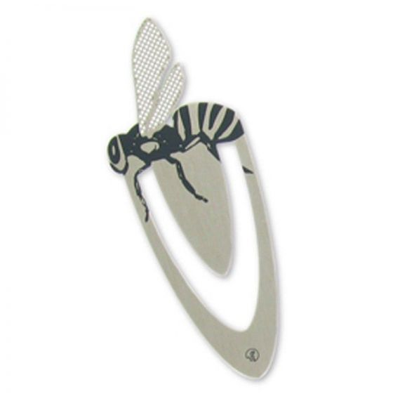 Ento Bee Stainless Steel Bookmark
