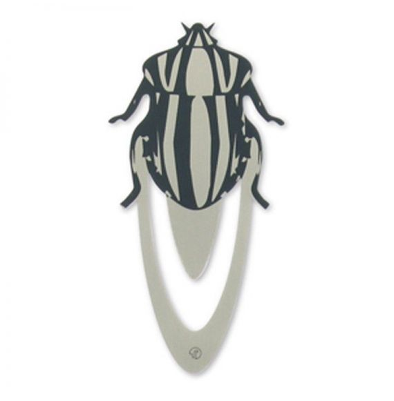 Ento Beetle Stainless Steel Bookmark