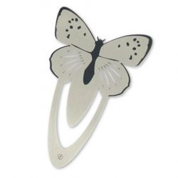 Butterfly Stainless Steel Bookmark