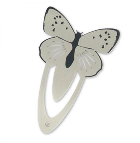 Ento Butterfly Stainless Steel Bookmark
