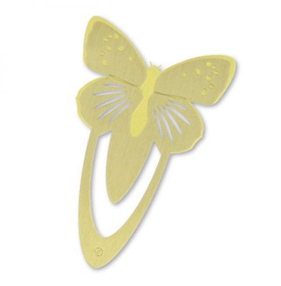 Ento Butterfly Brass Bookmark