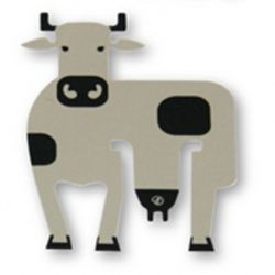 Farm Cow Bookmark