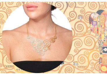 Jewelry inspired by Klimt